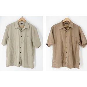 2 Royal Robbins Modal Shirts Size Large